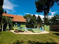 Celkový pohled 4 - rekreační dům k pronajmutí Klobouky u Brna