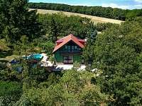 Celkový pohled jih - rekreační dům ubytování Klobouky u Brna