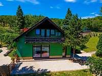 Celkový pohled jih 2 - rekreační dům k pronájmu Klobouky u Brna