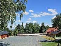 Parkoviště - rekreační dům ubytování Klobouky u Brna