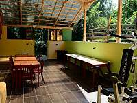Pod pergolou - rekreační dům k pronajmutí Klobouky u Brna