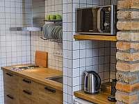 AP1 - kuchyňka - ubytování Kurdějov