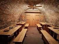 sklep k degustaci - chata k pronájmu Bavory