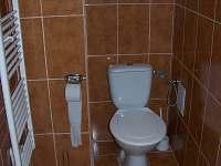wc - pronájem chaty Bavory