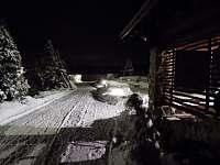 krásný zimní večer