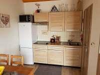 Kuchyňský kout - chata ubytování Hlohovec