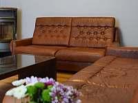 Chalupa U Králů - Obývací pokoj s rozkládací pohovkou