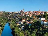 historické město Znojmo - rekreační dům k pronájmu Těšetice u Znojma