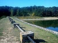 hráz přehrady - Těšetice u Znojma