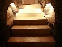 schody do sklípku - chalupa k pronájmu Prušánky - Nechory