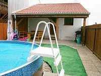 Sklep 3 zahrada s bazénem