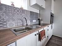 Kuchyň - rekreační dům k pronájmu Prušánky