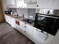 Kuchyň - pronájem rekreačního domu Prušánky
