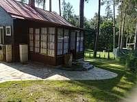 Vchod - chata ubytování Štítary