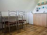 Podkroví - pokoj s kuchyňským koutem