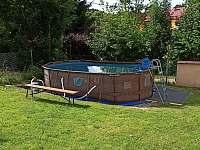 Bazén (5m x 3m) - pronájem chalupy Skřípov