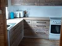 kuchyň - pronájem chaty Koryčany