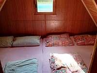 ložnice 2 - chata k pronajmutí Koryčany