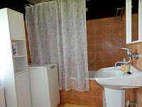 Koupelna - pronájem chalupy Rudice