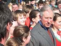 Princ Charles v Hostětíně - Rudice