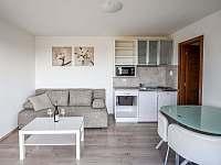 Interiér bungalovu - chatky ubytování Zaječí