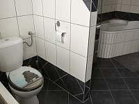 koupelna s WC - apartmán k pronájmu Podomí