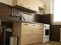 kuchyně - apartmán k pronajmutí Podomí
