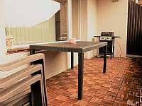 terasa - pronájem apartmánu Podomí