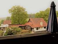 výhled z terasy - Podomí