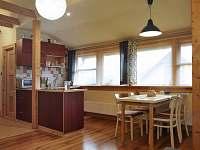 apartmán, Rokytnice u Slavičína, Bílé Karpaty, obývací místnost/kuchyně