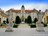 zámek Valtice - Milovice u Mikulova
