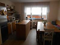 kuchyn - pronájem chalupy Rusava
