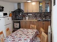 Kuchyně - chalupa ubytování Vlčnov