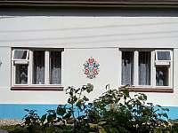Pohled z ulice - chalupa ubytování Vlčnov