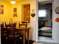 jídelní kout v kuchyňce