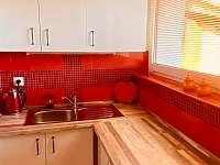 Kuchyňský kout - apartmán k pronájmu Dolní Dunajovice