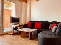 Obývací pokoj - apartmán k pronajmutí Dolní Dunajovice