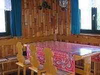 jídelna - chata Luhačovice
