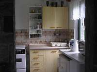 kuchyn - chata Luhačovice