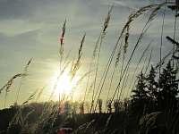 podzimní západ slunce