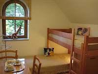 Pokoj se 2 postelemi nad sebou
