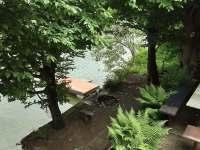 Ohniště u vody - chata k pronájmu Bítov