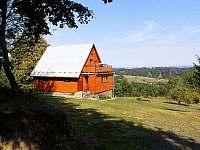 chata přední pohled