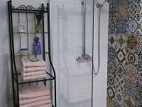 Koupelna v Apartmánu Antona Wolfa