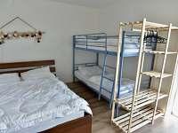 apartmán Patro ložnice s patrovou postelí