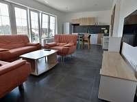 apartmán Patro obývací pokoj s jídelnou