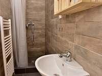 sprchový kout v ložnici v přízemí