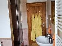 1.apartmán- koupelna, sprchový kout - Bělčovice