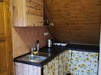 2.apartmán- kuchyň - chalupa k pronájmu Bělčovice