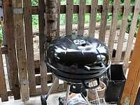 Gril na dřevěné uhlí/brikety - Buchlovice